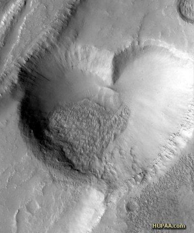 قلبی بر پهنه مریخ