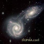 تولد یک کهکشان مارپیچ شبیه سازی شد
