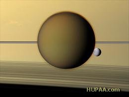 در یکی از قمر زحل، اکسیژن کشف شد