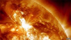 نگرانی از برخورد یک طوفان خورشیدی به زمین