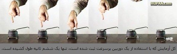 معجزه فیزیک دبیرستان: چگونه میتوانید انگشتتان را در سرب مذاب فرو ببرید