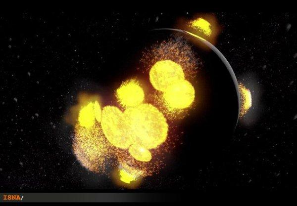 حیات 4.5 میلیارد ساله ماه در یک تصویر