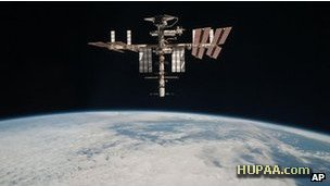 پناهگیری موقت ساکنان ایستگاه فضایی از ترس برخورد یک زباله فضایی