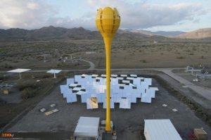 روش های تولید انرژی و اخبار فناوری در سایت علم ها - نوآوری در تولید برق لاله خورشیدی سیستم عظیم خورشیدی گل لاله Flower Power تولید برق Flower Power Solar tulip provides electricity