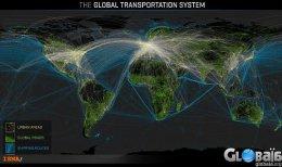 تصاویر دیدنی هوایی از توسعه خطوط حمل ونقل زمینی