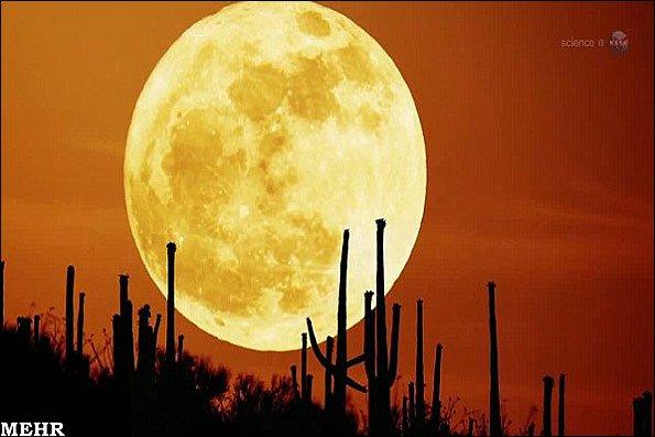 بزرگترین ماه سال را روز شنبه مشاهده کنید