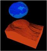 تصویربرداری از چگونگی برنامه گرفتن قطره آب روی سطح با قدرت تفکیک نانومتری